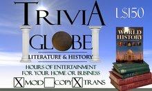 Literature & History Trivia Globe