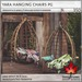 Trompe Loeil - Yara Hanging Chair PG [mesh]