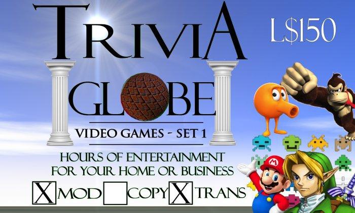 Video Game #1 Trivia Globe