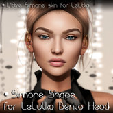 .::Nanika::. Simone Shape for LeLutka Bento Head SIMONE
