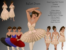 *Felicity* Ballet Costume Dress Tutu - In English Tulle