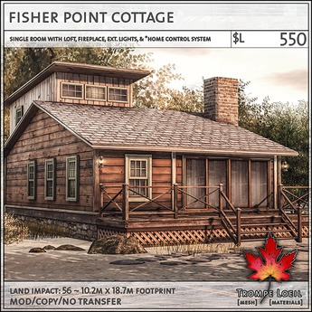 Trompe Loeil - Fisher Point Cottage [mesh]
