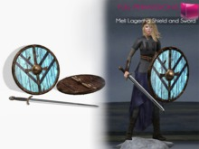 Full Perm Meli Lagertha Sword and Shield
