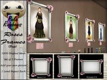 [PR] Roses Frames - Pink (Boxed)
