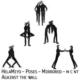 HelaMiyo :: Poses :: Against a wall