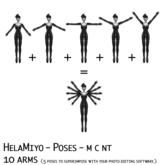 HelaMiyo :: Poses :: 10 arms