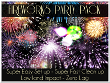 LOVE - FIREWORKS PARTY PACK - UNLIMITED USE