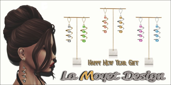 ~LM~Happy New Years Gift - Earrings