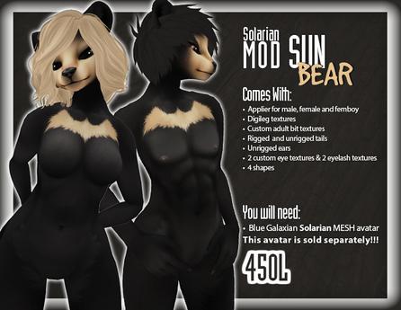::Static:: Solarian Sun Bear