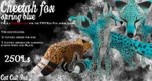 Cheetah Fox Spring Blue MOD