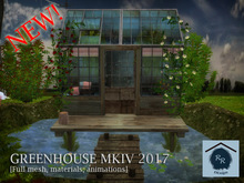 Romantic Greenhouse with couple animations