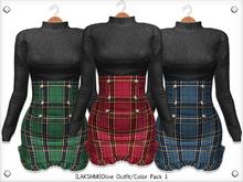 [LAKSHMI]Olive Outfit/Color Pack 1