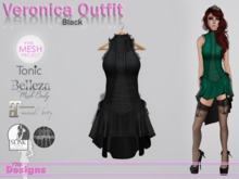 Veronica Outfit Black