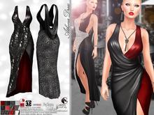 [Vips Creations] - Female Outfit - [Athena][Hud] - Female Dress - Formal Dress