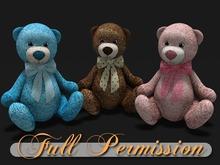 ~AB~ Baby Teddy Bear ~ Full Perm Mesh ~ 1 LI