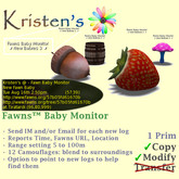Kristen's @ - Fawns Baby Monitor