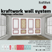 KraftWork Wall System - Christmas Collection