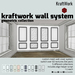 KraftWork Wall System - Geometric Collection