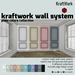 KraftWork Wall System - Plain Colors Collection