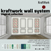 Ad kraftwork wall system    tropical collection mp