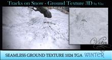Vita's Textures - TRACKS ON SNOW 3D Seamless 1024  2017