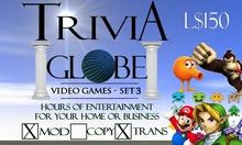 Video Game #3 Trivia Globe