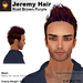 A&A Jeremy Hair Rust Brown Purple, cool short mens mesh hair, streaks, promo color!