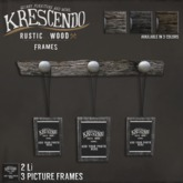 [Kres] Rustic Wood Frames - Birch