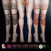 .:AS:. Bileya Leg Tattoo
