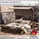 Trompe Loeil - Xaviera Lounger PG [mesh]