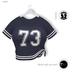 % S A L E % GAWK! Blue Knotted Baseball Shirt   for Standard Avatar   works well with Maitreya Mesh Body