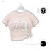 % S A L E % GAWK! Beige Knotted Baseball Shirt   for Standard Avatar   works well with Maitreya Mesh Body