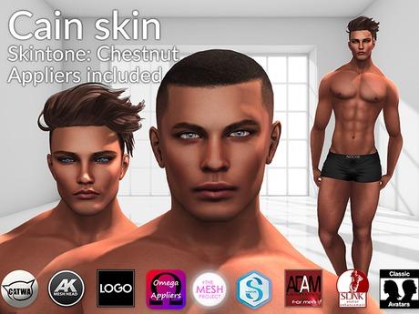 LURE: Cain skin - Chestnut (BoM ready)