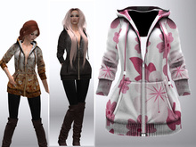 TF: Cassie Hoody Jacket Pink