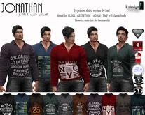 [lf design] jonathan PRINTED male shirt