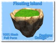 Floating Island 100% Mesh Full Perm