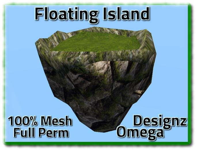 Sky Island (Green) Mesh Full Perm