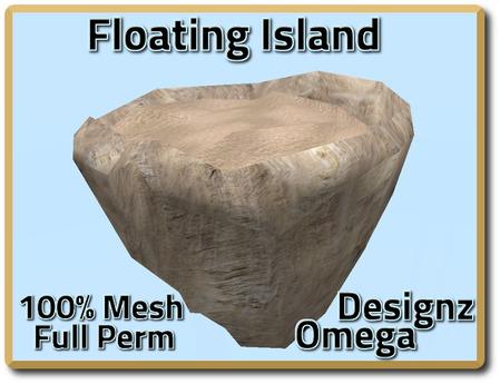Sky Island (Beach Sand) Mesh Full Perm