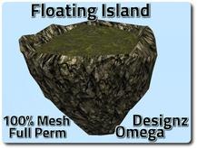Sky Island (Jungle Rock) Mesh Full Perm