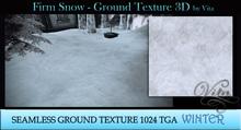 Vita's Textures - FIRM SNOW 3D Seamless 1024  2017