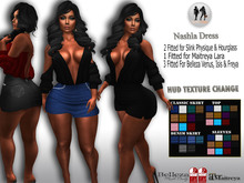 .:H.F Nashla Dress (HUD TEXTURE CHANGE)