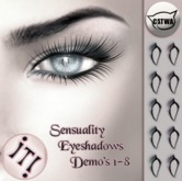 !IT! - Sensuality Eyeshadows DEMO's 1-8
