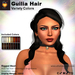 A&A Guilia Hair Variety Colors, rigged mesh half updo, low display weight, materials ready