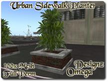 Urban Sidewalk Planter 100% Mesh Full Perm