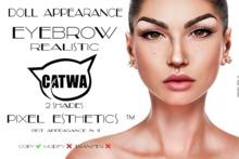 .:DA:. Eyebrow Realistic CATWA