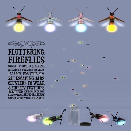 Schadenfreude Fluttering Fireflies