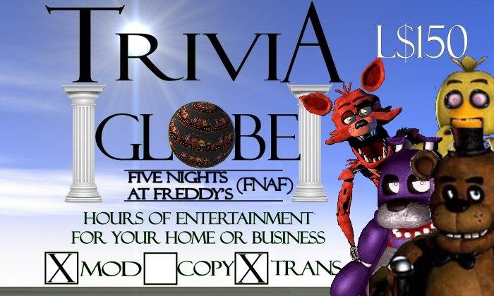 Five Nights at Freddy's (FNAF) Trivia Globe