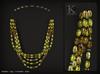(Kunglers) Vatusi necklace - citrine