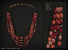 (Kunglers) Vatusi necklace - jasper