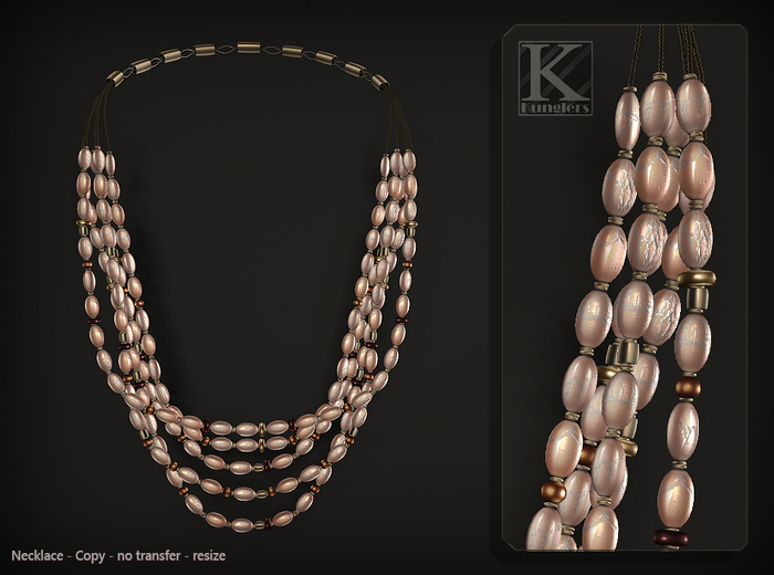 (Kunglers) Vatusi necklace - romance